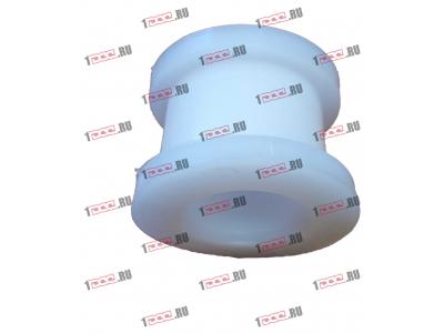 Втулка фторопластовая (передняя, кабина AZ1642430263) H2/H3 HOWO (ХОВО) AZ1642430261 фото 1 Нижний Тагил