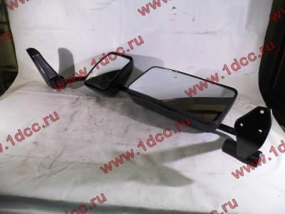 Зеркало заднего вида левое в сборе (на металл. стойке) H2/H3 HOWO (ХОВО) WG1842888010/2 L фото 1 Нижний Тагил