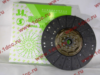 Диск сцепления ведомый 420 мм H2/H3 HOWO (ХОВО) WG1560161130 фото 1 Нижний Тагил