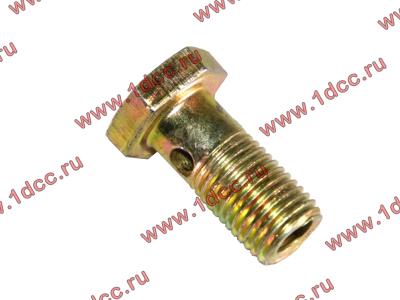 Болт пустотелый М12х1,25 (штуцер топливный) H HOWO (ХОВО) 90003962607 фото 1 Нижний Тагил