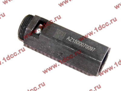 Клапан предохранительный главной масляной магистрали двигателя H HOWO (ХОВО) VG1500070097 фото 1 Нижний Тагил