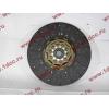 Диск сцепления ведомый 420 мм H2/H3 HOWO (ХОВО) WG1560161130 фото 2 Нижний Тагил