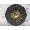 Диск сцепления ведомый 420 мм H2/H3 HOWO (ХОВО) WG1560161130 фото 4 Нижний Тагил