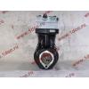 Компрессор пневмотормозов 2-х цилиндровый WABCO H3 HOWO (ХОВО) VG1099130010 фото 5 Нижний Тагил